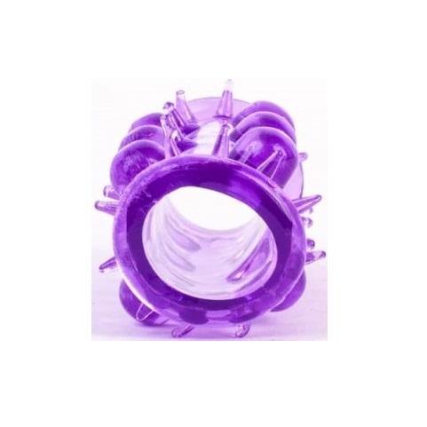 Пенис ръкав за ново усещане, лилав – Silicone Sleeve