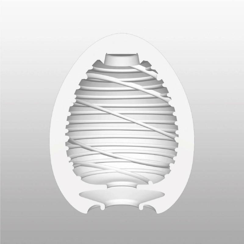 Мастурбатор яйце за копринено усещане - Egg Silky — 6