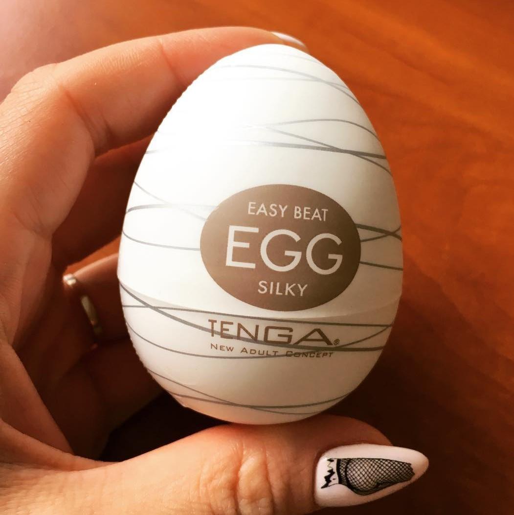 Мастурбатор яйце за копринено усещане - Egg Silky — 4