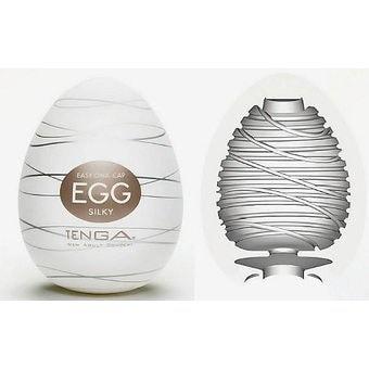 Мастурбатор яйце за копринено усещане – Egg Silky