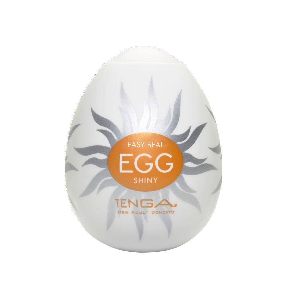 Мастурбатор яйце за лъскаво усещане - Egg Shiny — 3