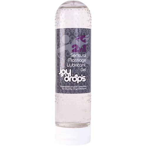Лубрикант и масажно масло, 2 в 1- JoyDrops Sensual Massage 125ml