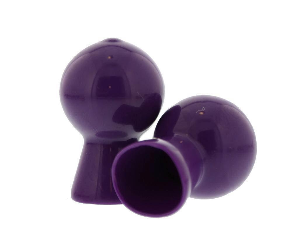 Силиконови форми за стимулация на зърната – Nipple Sucker Pair in Shiny Purple