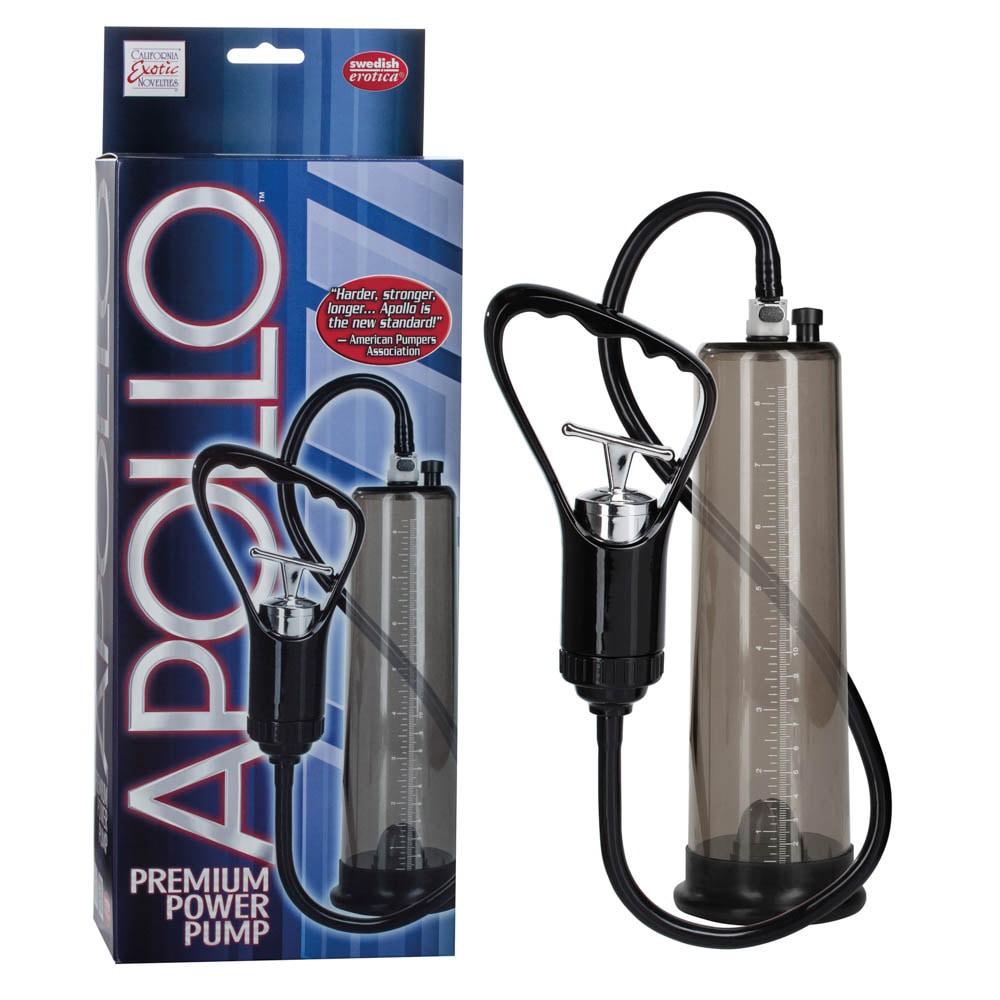 Пенис помпа, професионална и вакуумна – Apollo Premium Power Pump