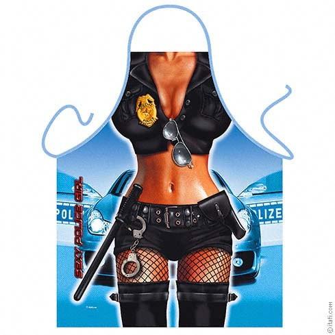 Секси готварска престилка – Полицайка