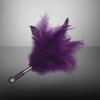 Еротичен аксесоар с лилави пера - Tantra Feather