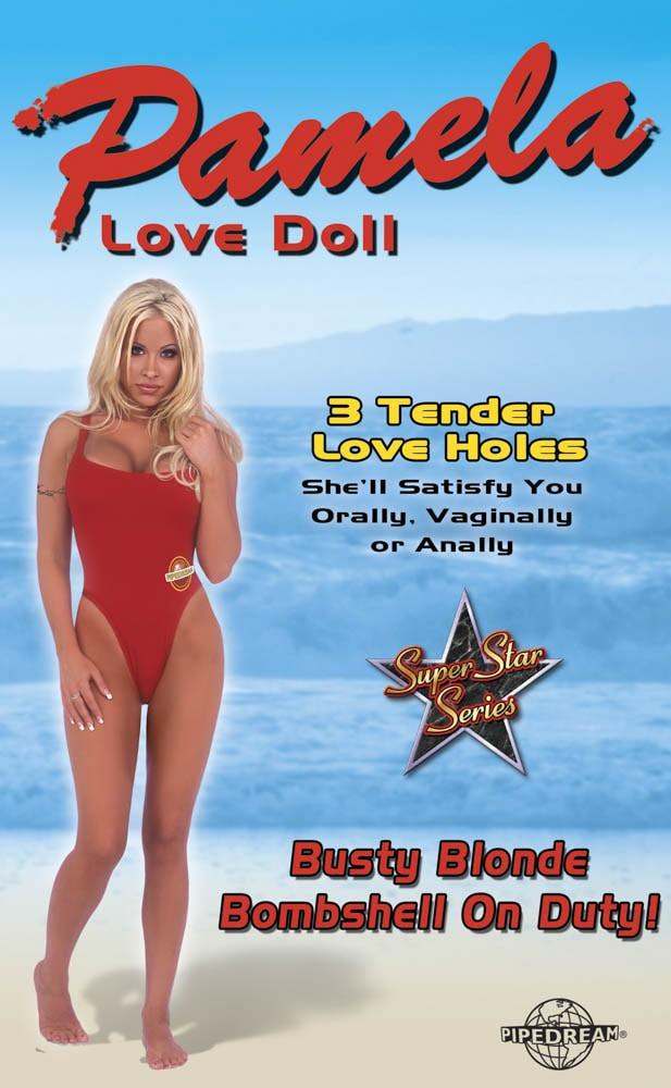 Секс кукла, Памела от спасители на плажа те очаква – Pamela Love Doll