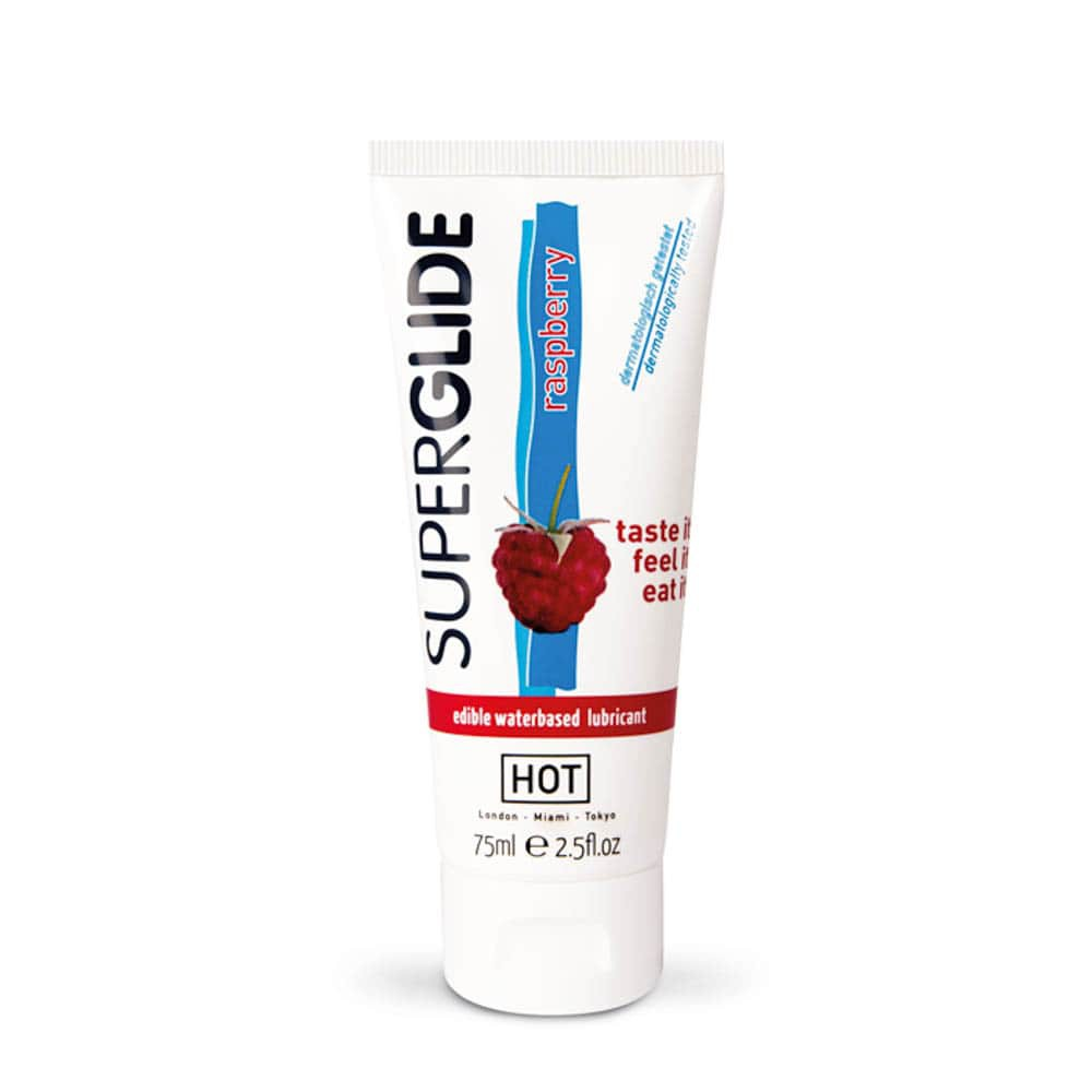Лубрикант с аромат на малина – HOT Superglide Raspberry 75ml