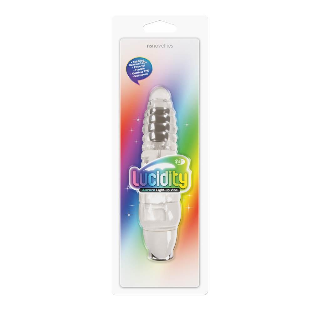 Светещ вибратор – Lucidity, Aurora Light-up Vibe