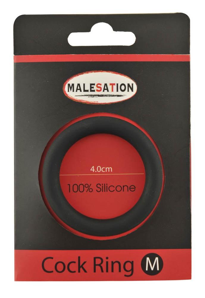 Силиконов пенис ринг, размер M – Malesation