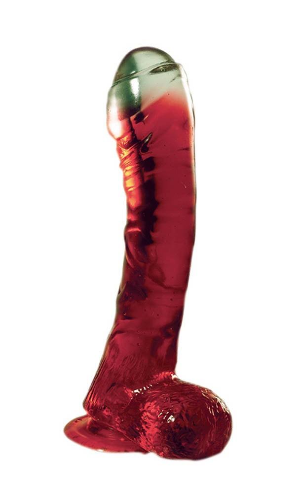 Пенис дилдо с екстравагантна визия 16,5см. – Jolly Buttcock Red Dong