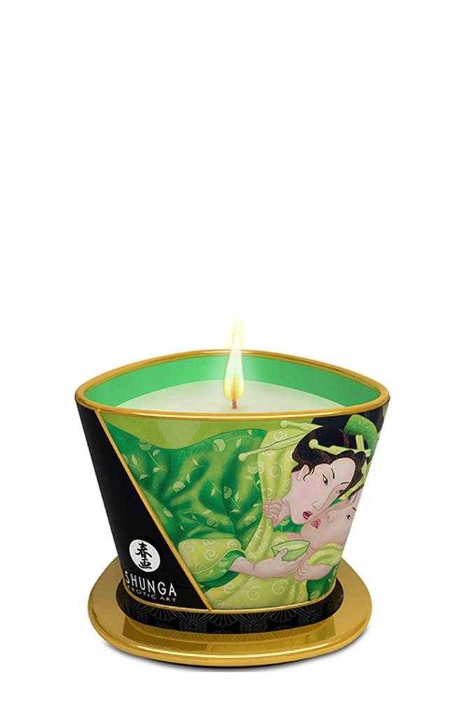 Свещ с аромат на зелен чай – Shunga 170ml