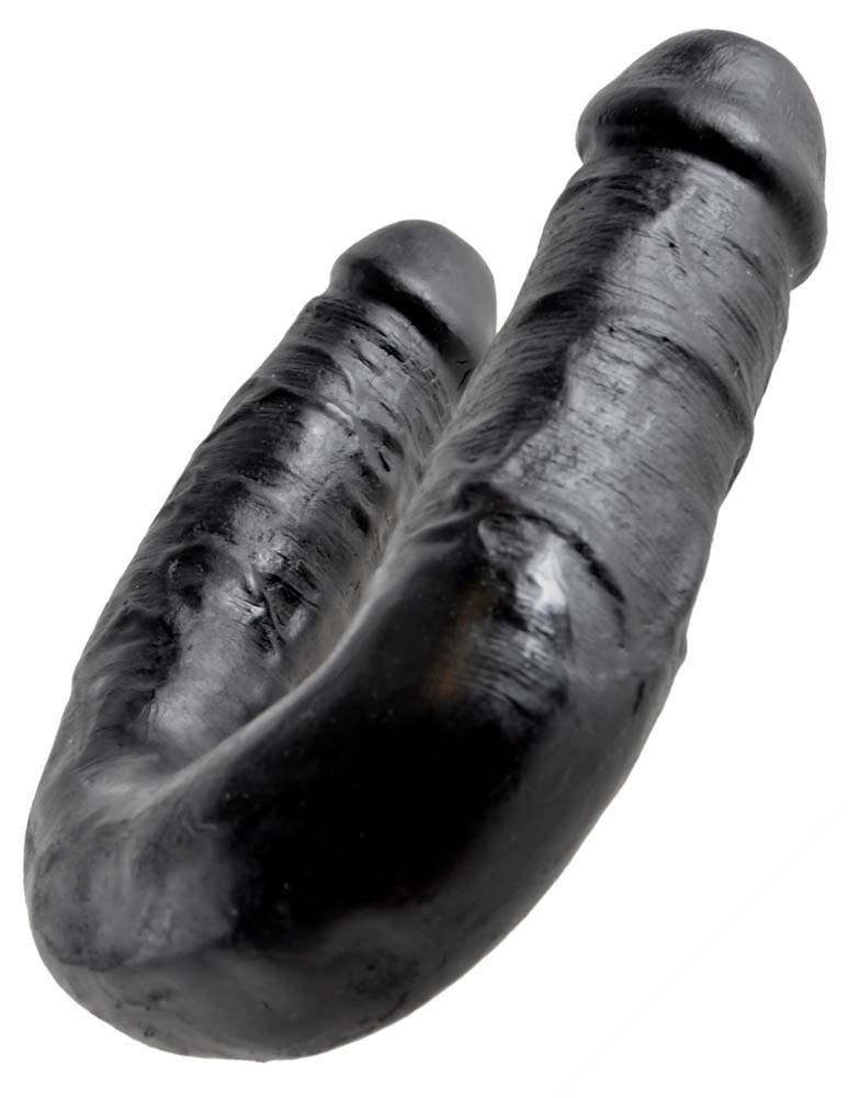 среден размер в черен цвят - U-Shaped Medium Double Trouble — 2