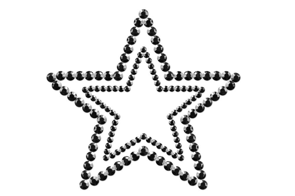 Украшение за тяло - Mimi Star Black — 2