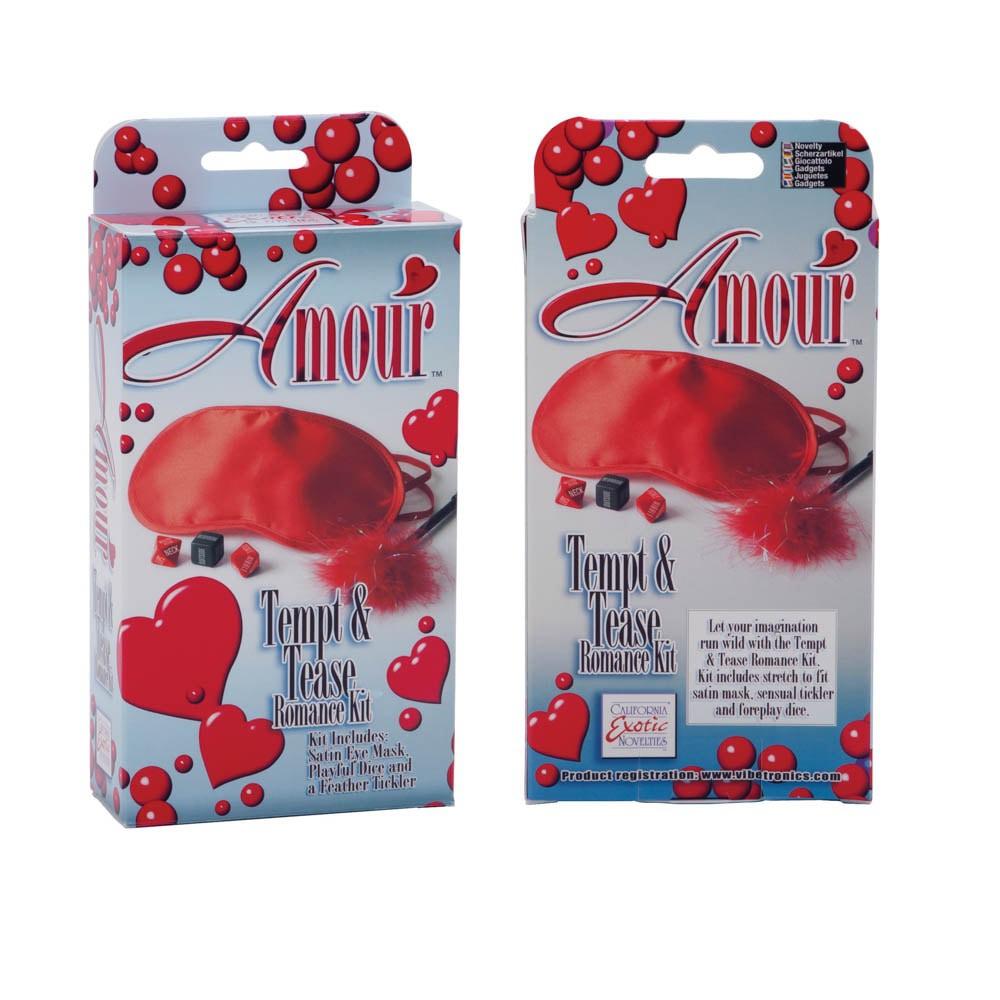 Любовен комплект в страстно червено - Amour