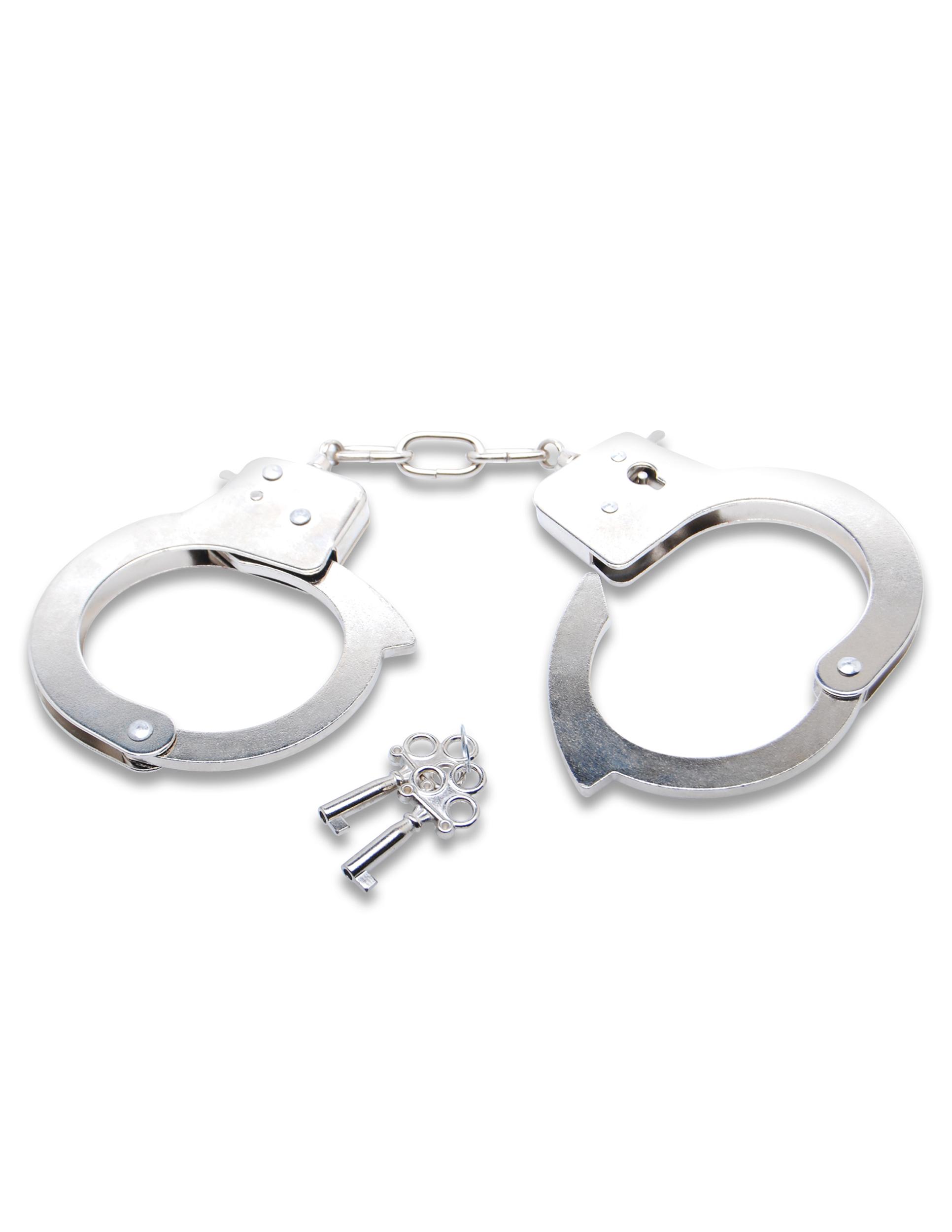 Полицейски белезници с бутон за бързо освобождаване – Official Handcuffs, Fetish Fantasy