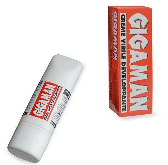 Крем за уголемяване не пениса - Gigaman 100ml — 3