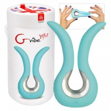 Мини вибратор, иновативен и двоен – Gvibe Mini, Tiffany Mint