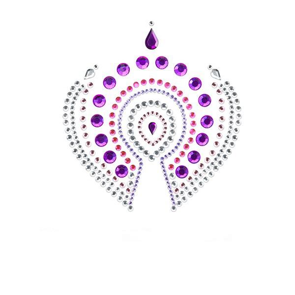 Украшение за тяло - Flamboyant Pink/Purple — 2