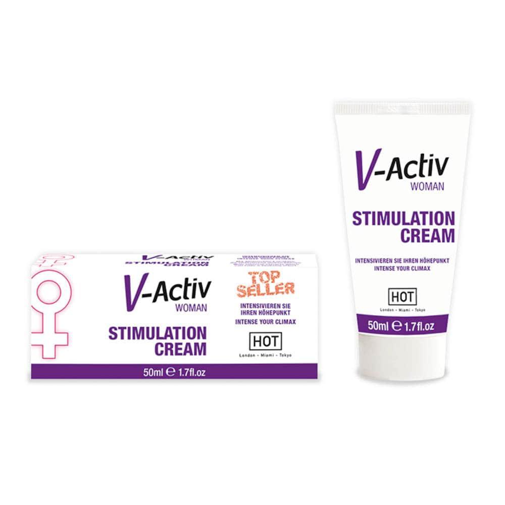 Стимулиращ крем за жени - V-Activ 50ml