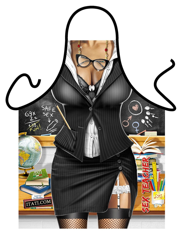 Секси готварска престилка – Учителката