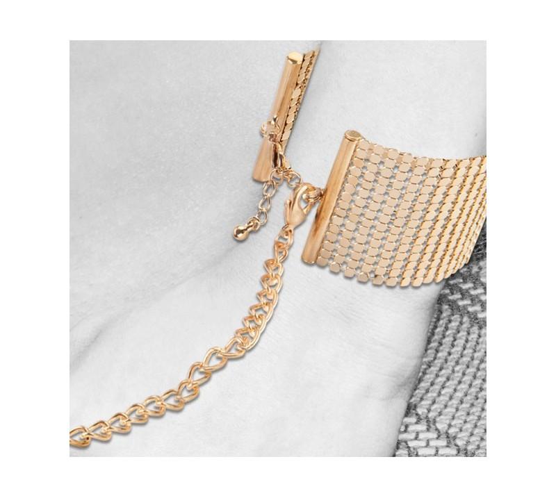Стилни метални белезници в златен цвят - Desir Metallique — 6