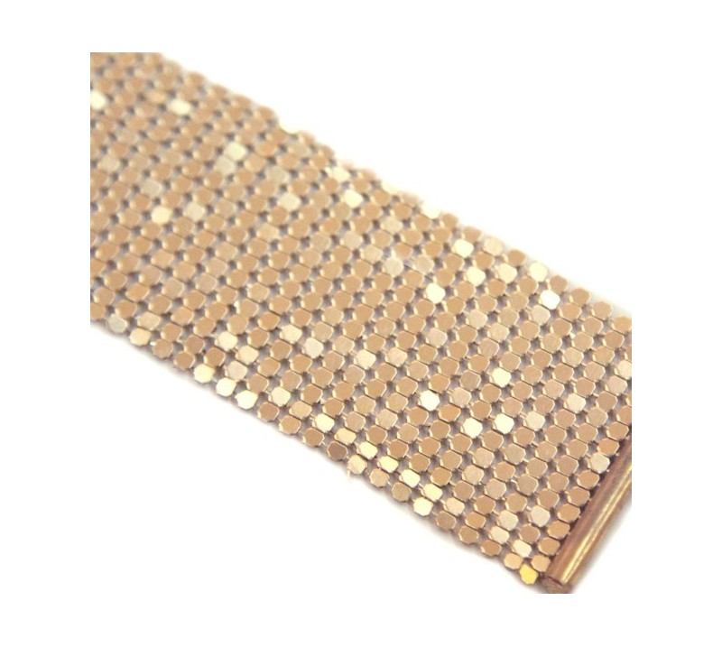 Стилни метални белезници в златен цвят - Desir Metallique — 2