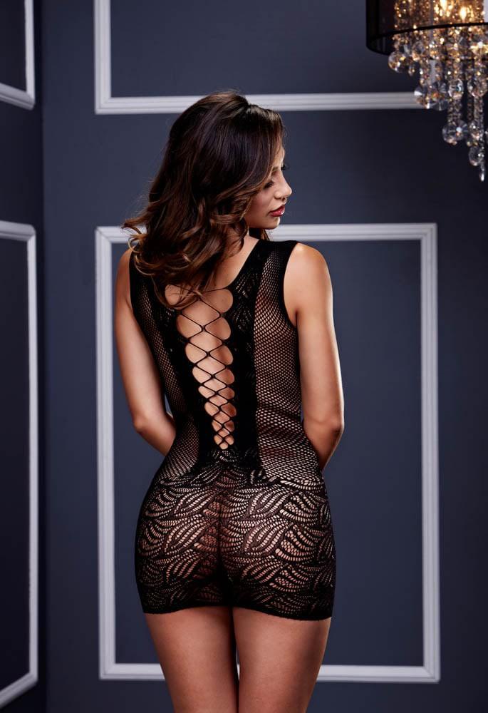 Ултра секси мини рокля – Baci Lingerie, Ultra Corset Lace Up