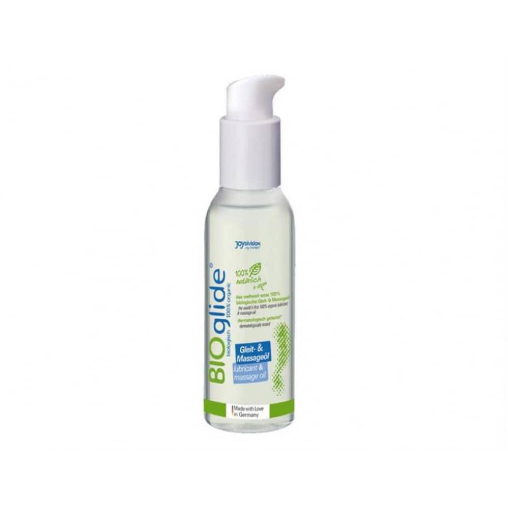 BIOglide lubricant and massage oil