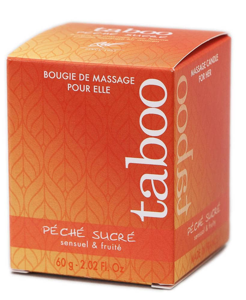 CANDLE MASSAGE WOMEN - Péché sucré (nectarine)