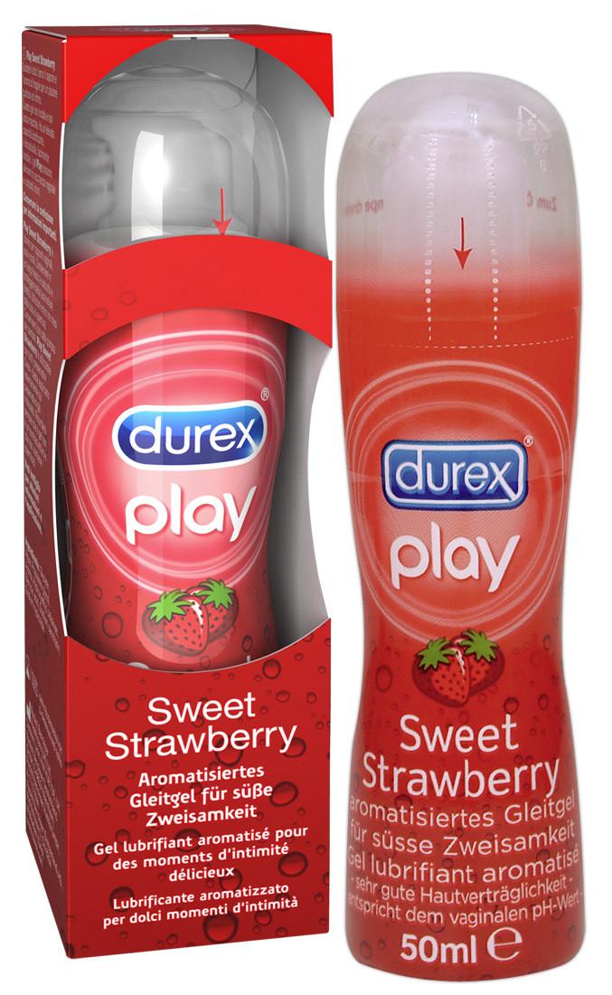 DUREX PLAY STRAWBERRY 6X50ML