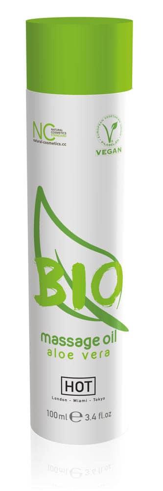 HOT BIO massage oil aloe vera - 100 ml