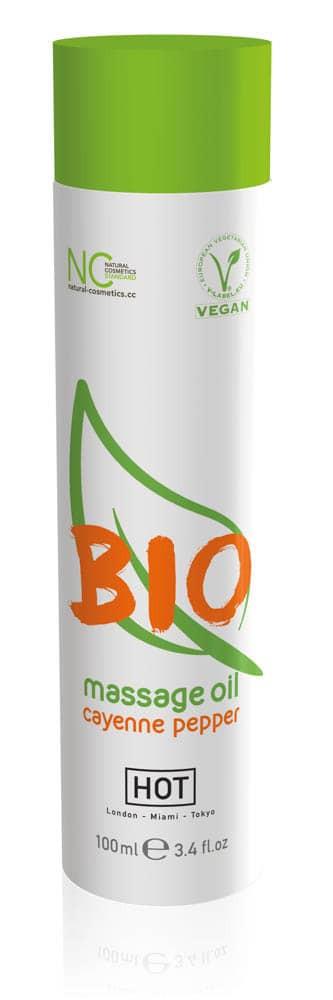 HOT BIO massage oil cayenne pepper - 100 ml