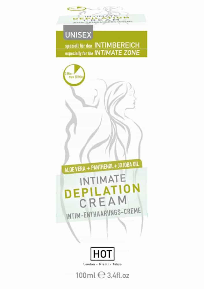 HOT Intimate depilation cream 100 ml
