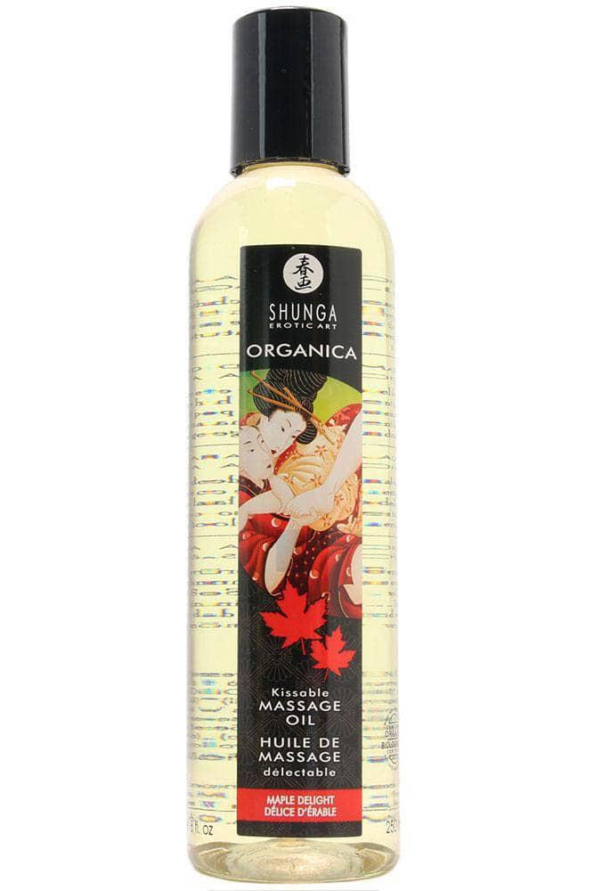 Натурално масажно масло, кленова наслада – Erotic Massage, Maple Delight