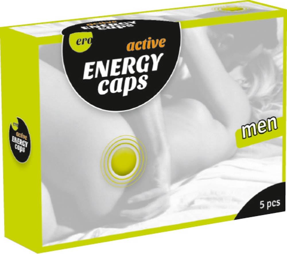 Men Energy Caps  - 5er