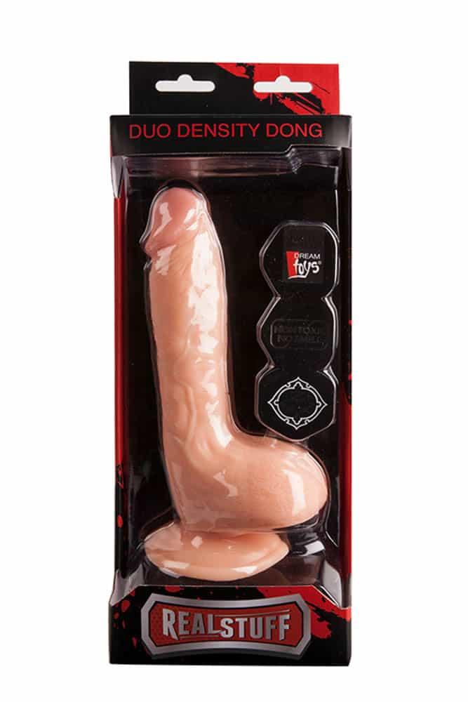 REALSTUFF DUO DENSITY DONG 8INCH