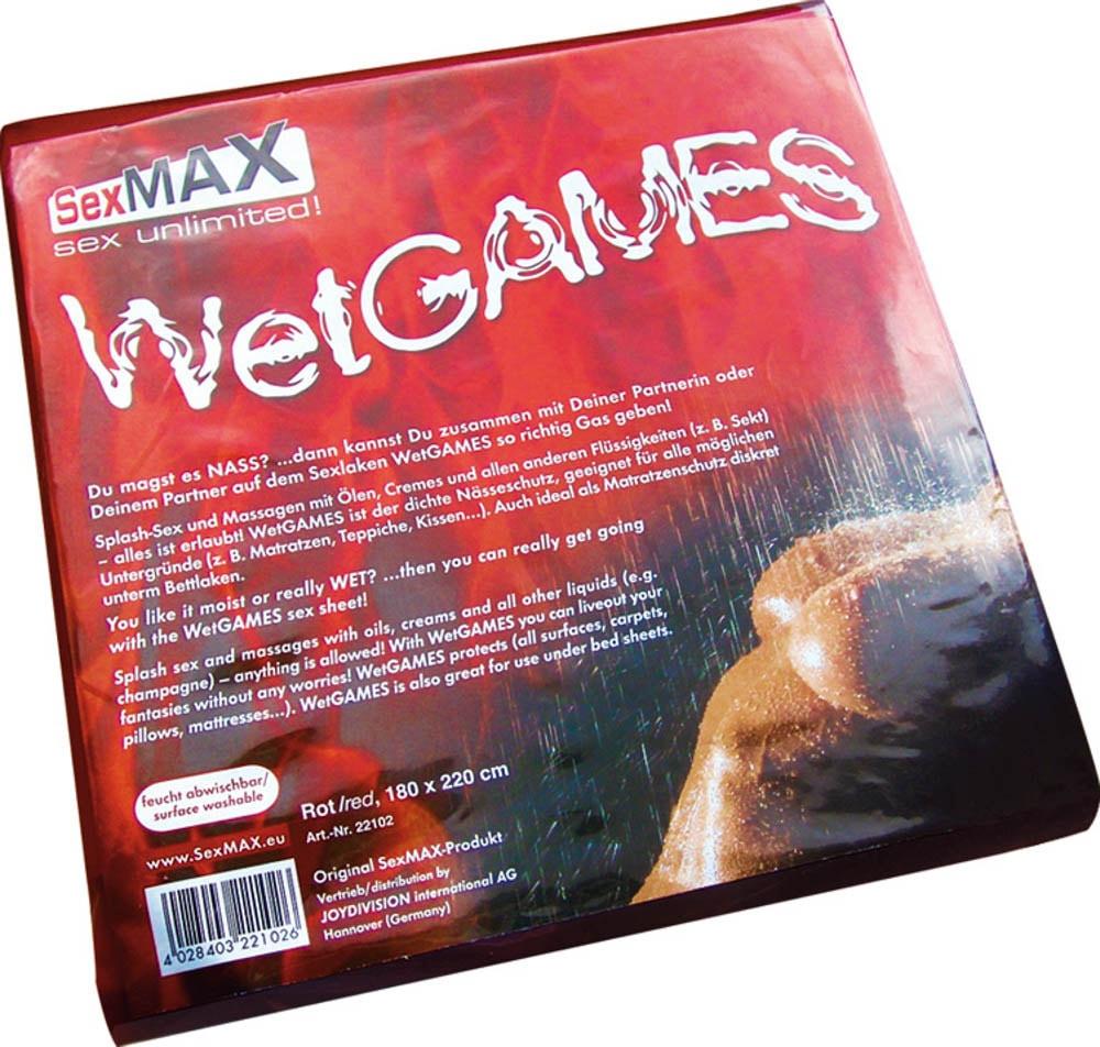 SexMAX WetGAMES Sex-Laken