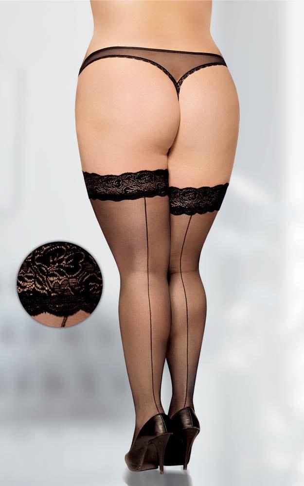 Stockings 5530 - black    6