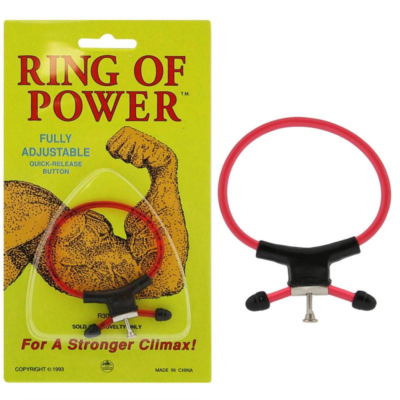 Пенис пръстен, регулируем с бутон за бързо освобождаване – Magic Ring