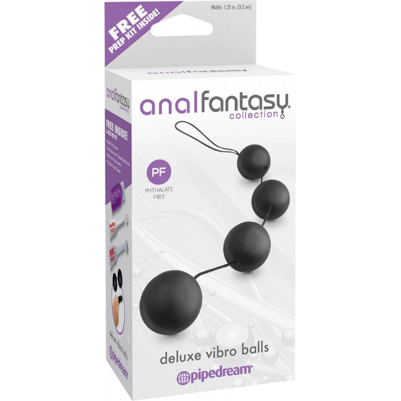 Анални вибриращи топчета, луксозни – Deluxe Vibro Balls