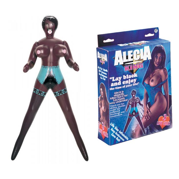 Секс кукла, екзотична наслада с три отвора за удоволствие – Alecia King