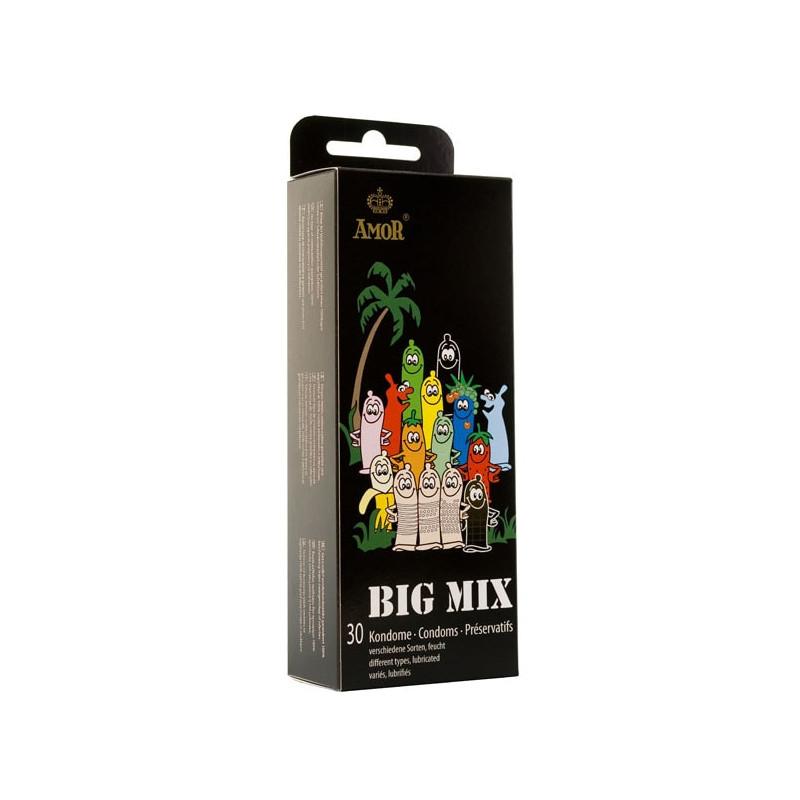 Микс презервативи, 30 броя – AMOR Big Mix