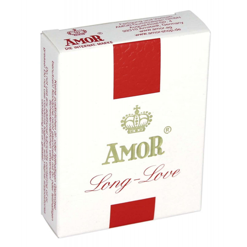Презервативи за дълга любов 3бр. – Amor Long Love