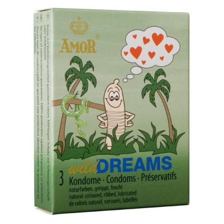 Презервативи, диви мечти, 3бр. – Amor Wild Dreams