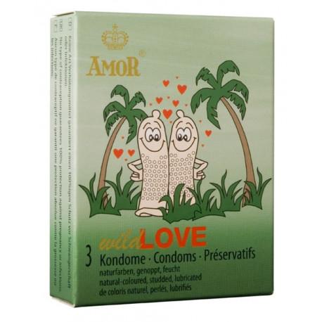 Презервативи, дива любов, 3бр. – Amor Wild Love