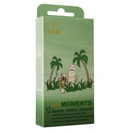 Презервативи, диви моменти, 12бр. – Amor Wild Moments