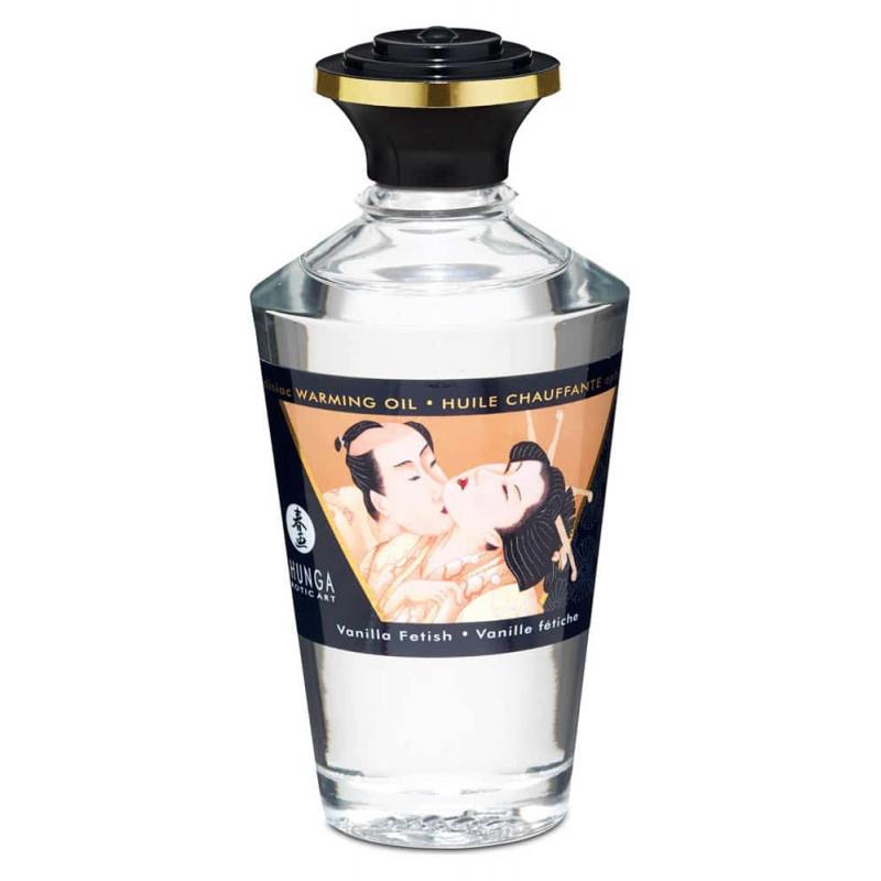 Масажно масло със затоплящ ефект, фетиш ванилия – Aphrodisiac Oils 100ml