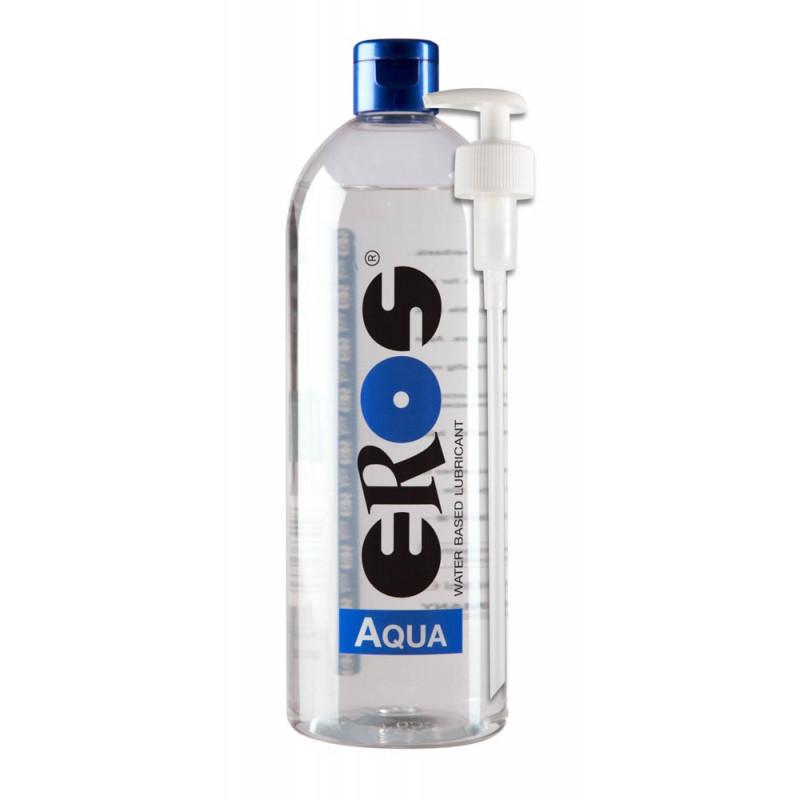 Лубрикант на водна основа с помпа – Aqua Flasche 1000 ml
