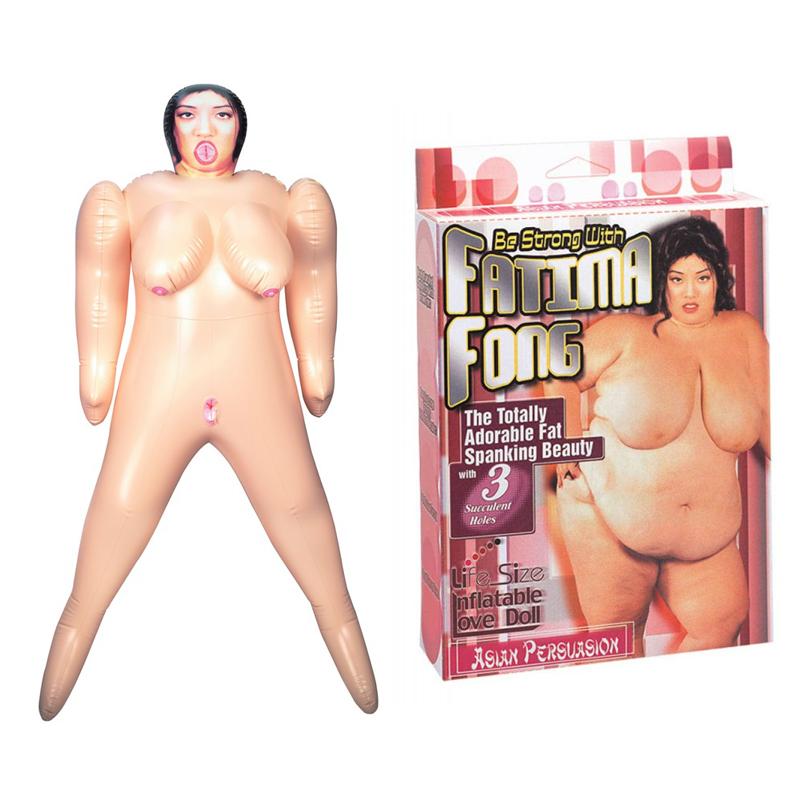Изключително голяма любовна кукла – Fatima Fong